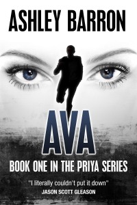 AVA by Ashley Barron - book cover