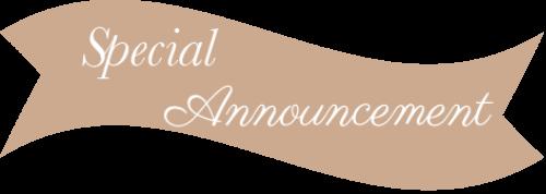 special announcement allison cosgrove